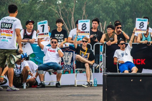 Fixed Gear Open 6 - Fixed Freestyle Judges