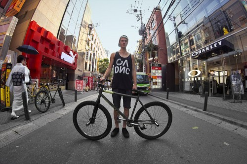 Matt Reyes - Wheel Talk - Japan 2013 - Bike Check