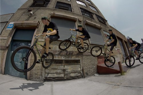 Matt Reyes - Wheel Talk - New York 2013 - Wall Ride Sequence