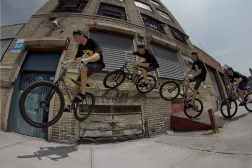 Matt Reyes - Wheel Talk - New York 2013 - Wall Ride Sequence