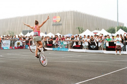 35mm - China - Fixed Gear Open 6 - Ines Brunn - Freestyle Competition