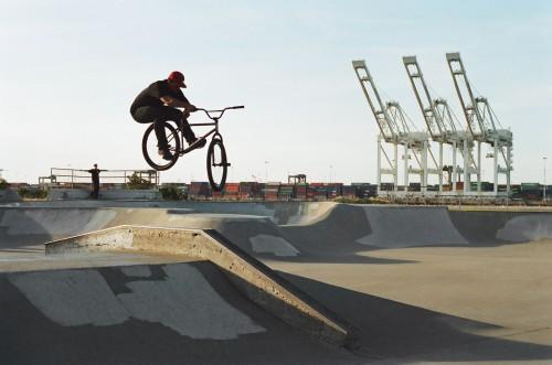 35mm - Devon Lawson - Alameda Skatepark - TBog