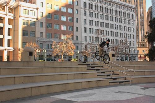 Ed Wonka Laforte - Turf Bikes - Oakland - Pegs 1