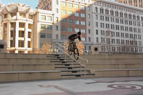 Ed Wonka Laforte - Turf Bikes - Oakland - Pegs2