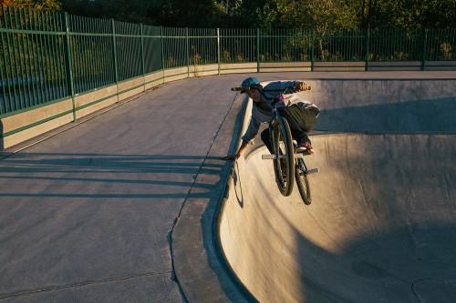 Mike Schmitt - Turf Bikes - Vallejo Skatepark