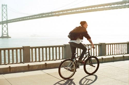 35mm - Mike Schmitt - San Francisco - Bay Bridge - Turf Bikes - Daily Commute