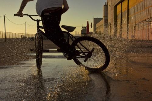 Matt Reyes - FGFS - Fixed Gear Skid - San Francisco Skyline