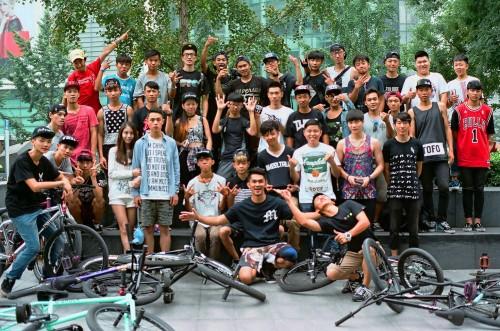 35mm - FGFS - China Fixed Gear Freestyle Scene - Wheel Talk 2014