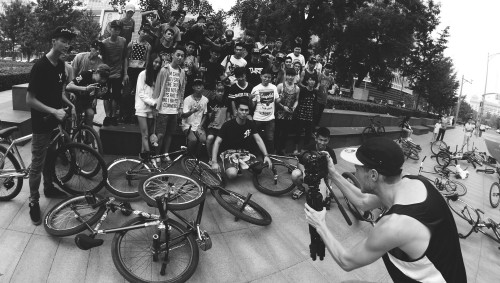 FGFS - China Fixed Gear Freestyle Scene - Matt Reyes Wheel Talk 2014