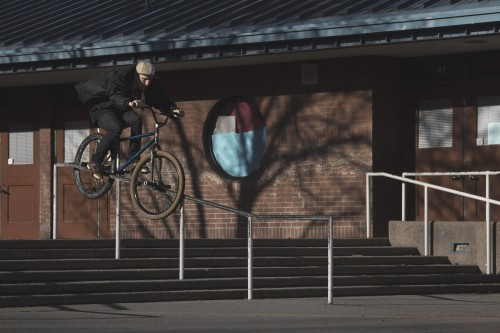Mike T Schmitt - Turf Bikes - Crooked Grind