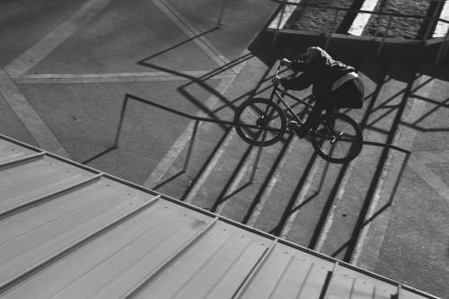 Mike T Schmitt - Turf Bikes - Crooked Grind - Birds Eye Close
