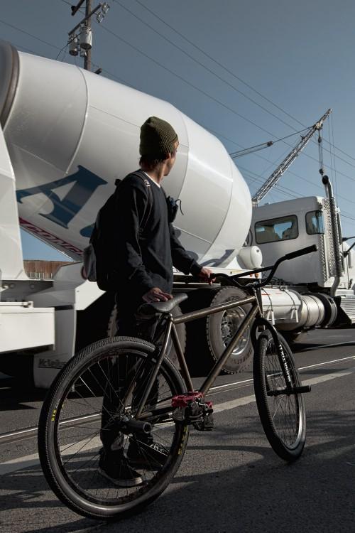 Tadashi Nakamura - San Francisco 2015 - Cement Truck - Bike Check