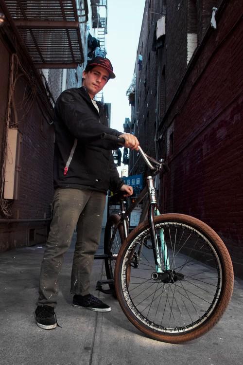Ed Wonka Laforte - Capone Bikes - Laforte Frame - SF China Town 2015