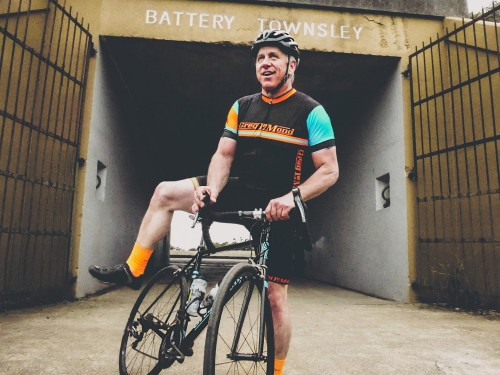 Oakley - Greg Lemond - SF Ride 2015 - Battery Townsly